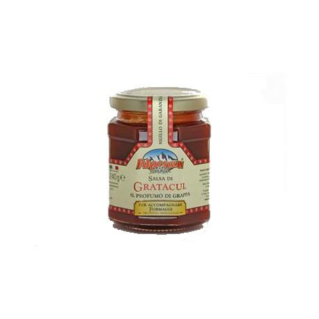 Salsa di gratacul con grappa gr. 240