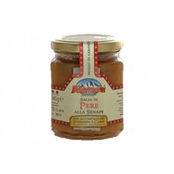 Salsa di pere con la senape gr. 240