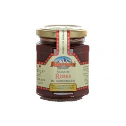 Salsa di ribes rosso in agrodolce gr. 240