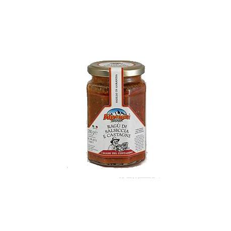 Ragù di salsiccia e castagne gr. 300
