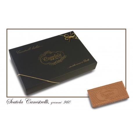 Canestrelli scatola 960 gr.